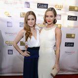 Amy Adams y Emily Blunt en la gala de los Critics' Choice Movie Awards 2013