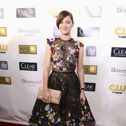 Marion Cotillard en la gala de los Critics' Choice Movie Awards 2013