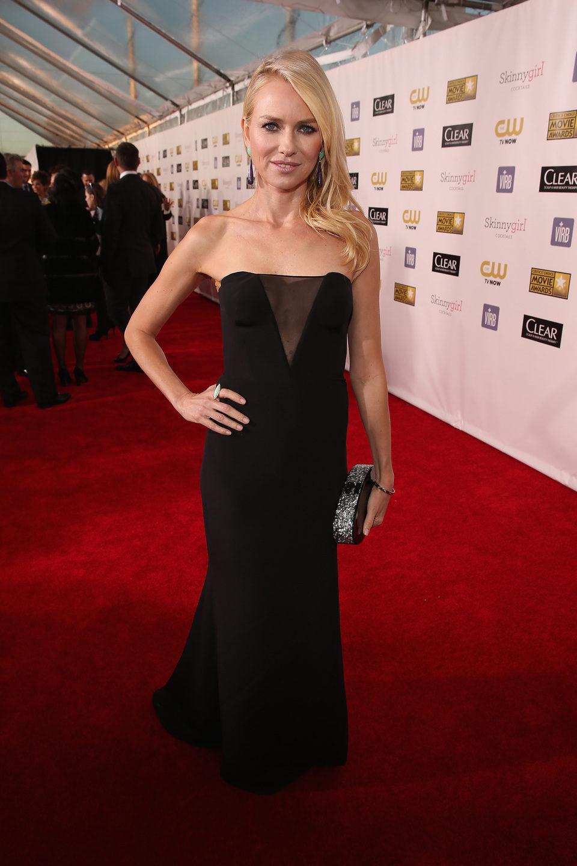 Naomi Watts en la gala de los Critics' Choice Movie Awards 2013