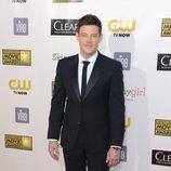 Cory Monteith en la gala de los Critics' Choice Movie Awards 2013