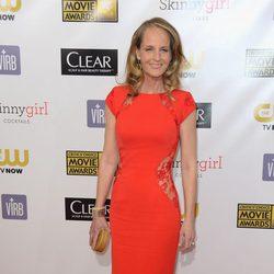 Helen Hunt en la gala de los Critics' Choice Movie Awards 2013