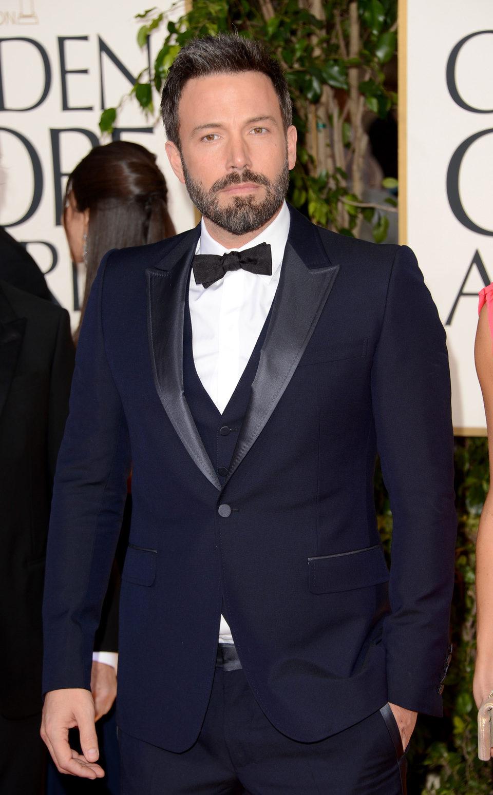 Ben Affleck de 'Argo' en los Globos de Oro 2013