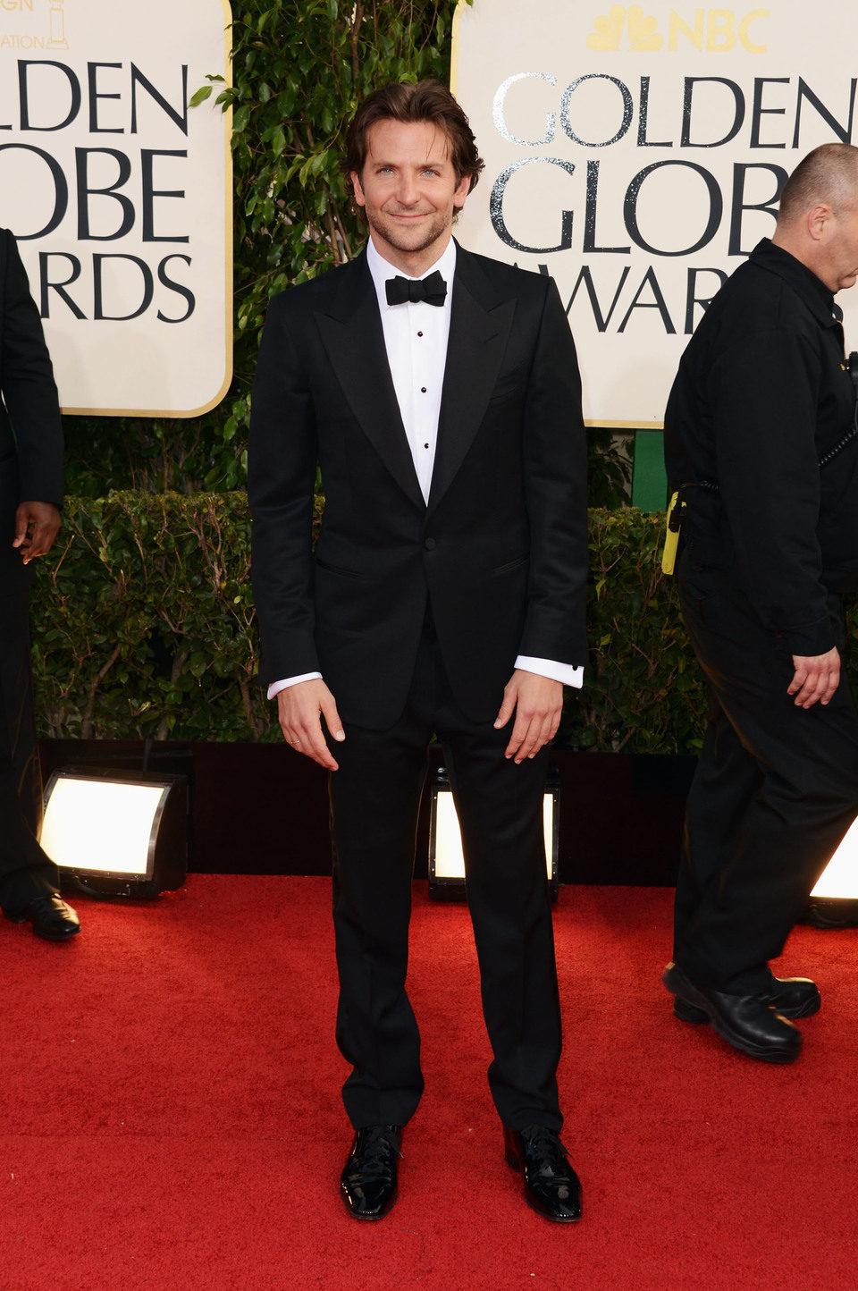 Bradley Cooper en los Globos de Oro 2013