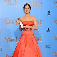 Jennifer Lawrence, Mejor actriz de comedia por 'El lado bueno de las cosas' en los Globos de Oro 2013