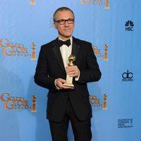 Christoph Waltz, Mejor actor de reparto por 'Django desencadenado' en los Globos de Oro 2013