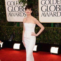 Anne Hathaway de 'Los Miserables' en los Globos de Oro 2013