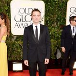 Robert Pattinson de 'Crepúsculo' en los Globos de Oro 2013