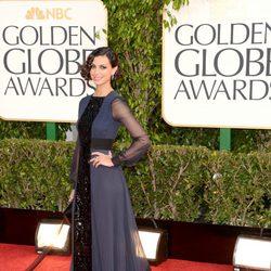 Morena Baccarin en los Globos de Oro 2013