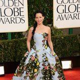 Lucy Liu en los Globos de Oro 2013