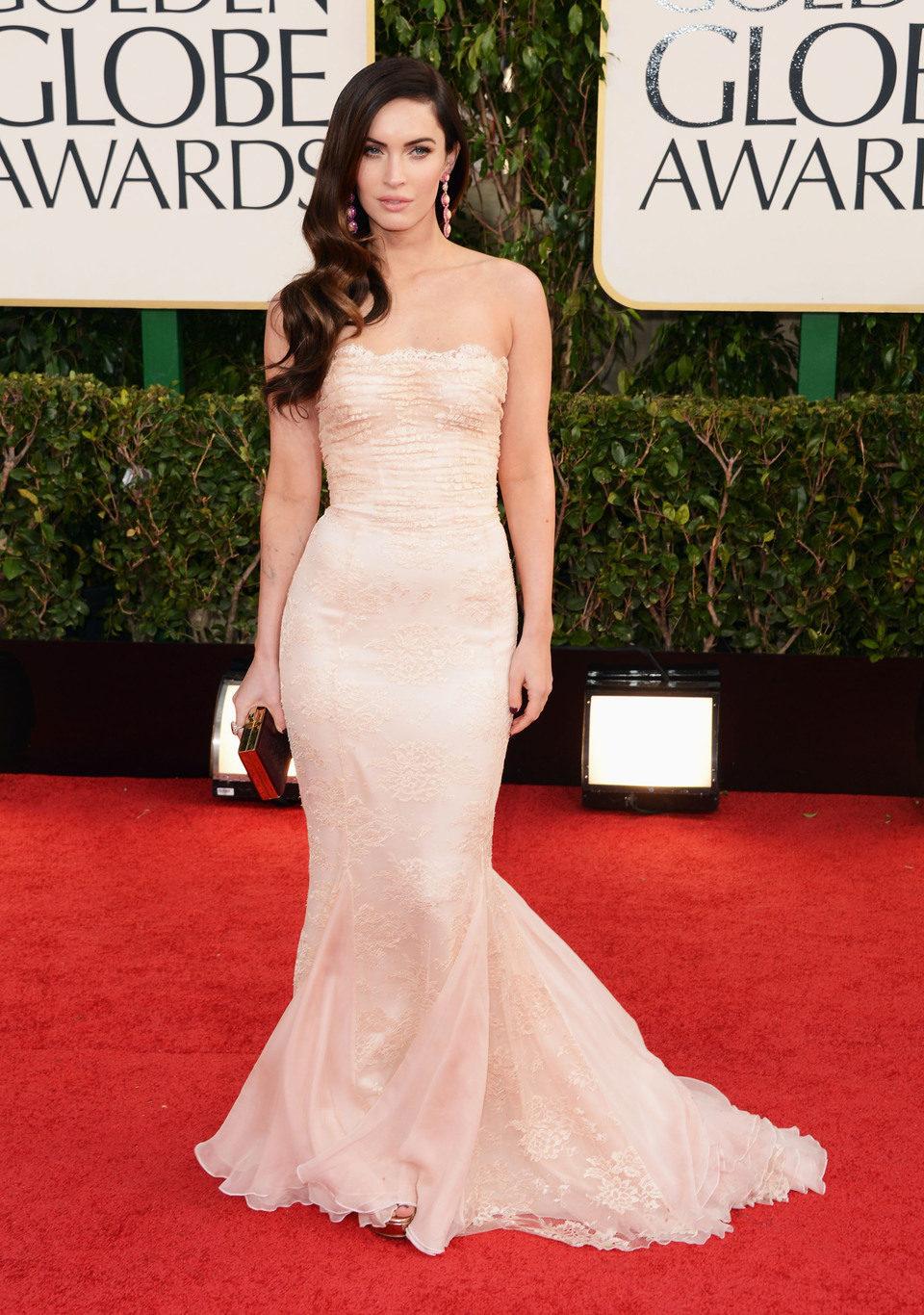 Megan Fox en los Globos de Oro 2013