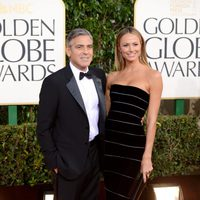 George Clooney en los Globos de Oro 2013