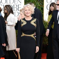 Helen Mirren en los Globos de Oro 2013
