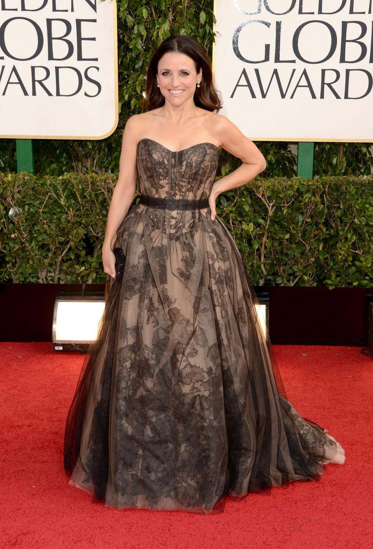 Julia Louis-Dreyfus en los Globos de Oro