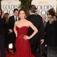 Jennifer Garner en la alfombra roja de los Globos de Oro 2013
