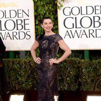 Julianna Margulies en los Globos de Oro 2013