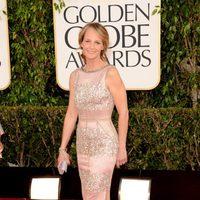 Helen Hunt, de 'Las Sesiones', en los Globos de Oro 2013