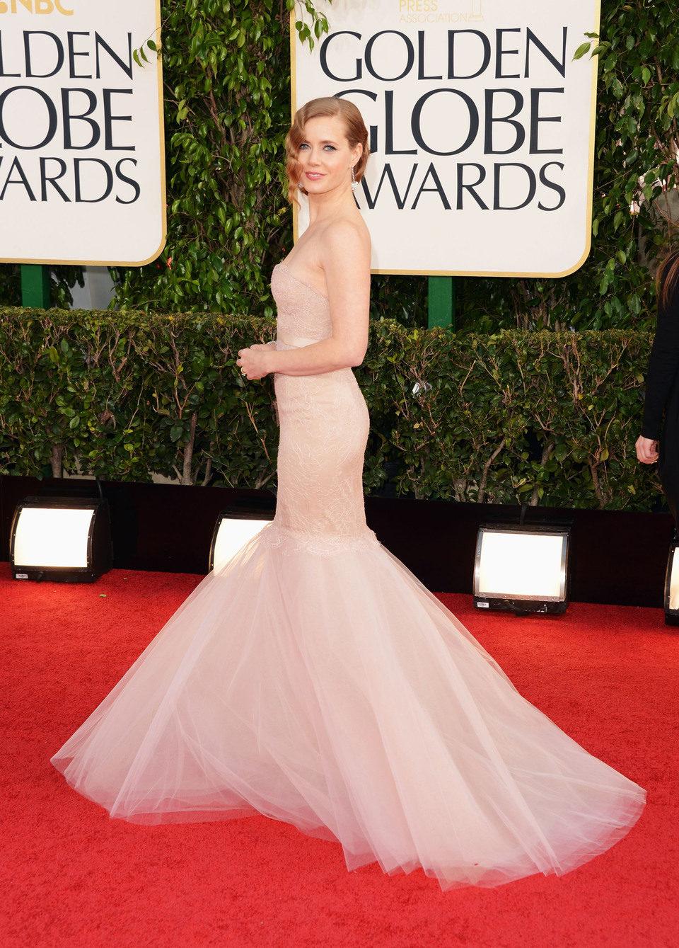 Amy Adams en los Globos de Oro 2013
