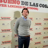 Bradley Cooper presenta 'El lado bueno de las cosas' en Madrid