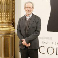 Steven Spielberg en la presentación de 'Lincoln' en Madrid