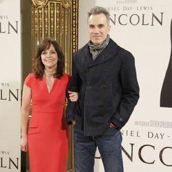 Daniel Day-Lewis y Sally Field en la presentación de 'Lincoln' en Madrid