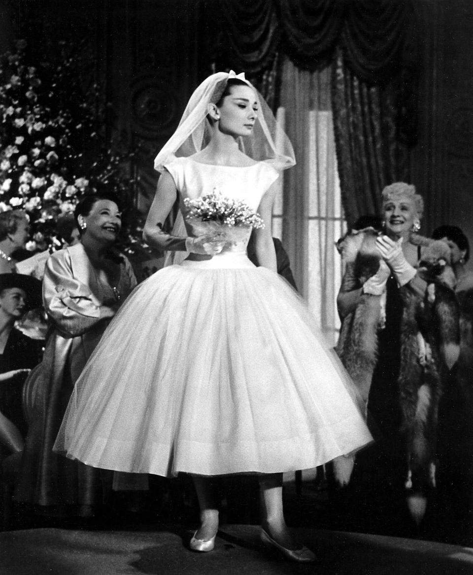 Audrey Hepburn en 'Una cara con ángel', 1956