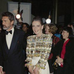 Audrey Hepburn en la gala Film Society en el Lincoln Center