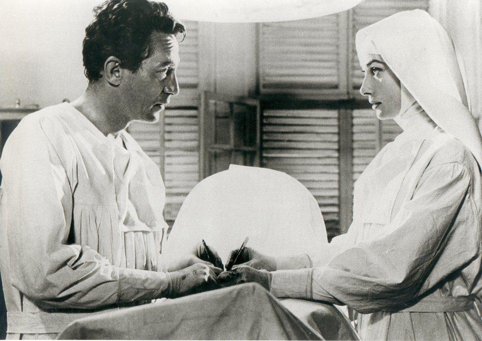 Audrey Hepburn en 'Historia de una monja' 1959