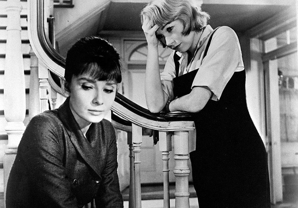 Audrey Hepburn en 'La calumnia', 1961
