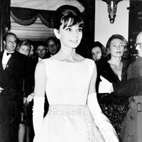 Audrey Hepburn en el estreno de 'Desayuno con diamantes'