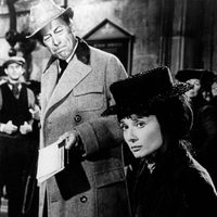 Rex Harrison y Audrey Hepburn en 'My Fair Lady'