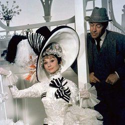 Audrey Hepburn y Rex Harrison en 'My Fair Lady'