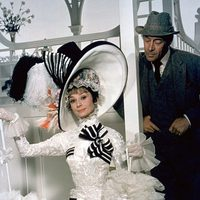 Audrey Hepburn y Rex Harrison en 'My Fair Lady'