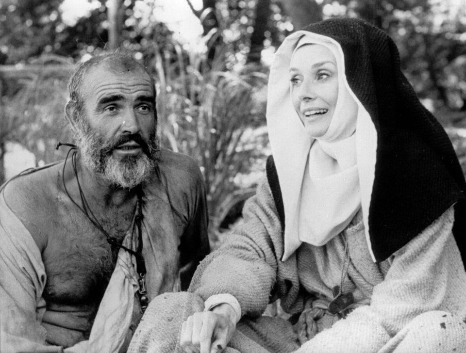 Audrey Hepburn en 'Robin y Marian', 1976