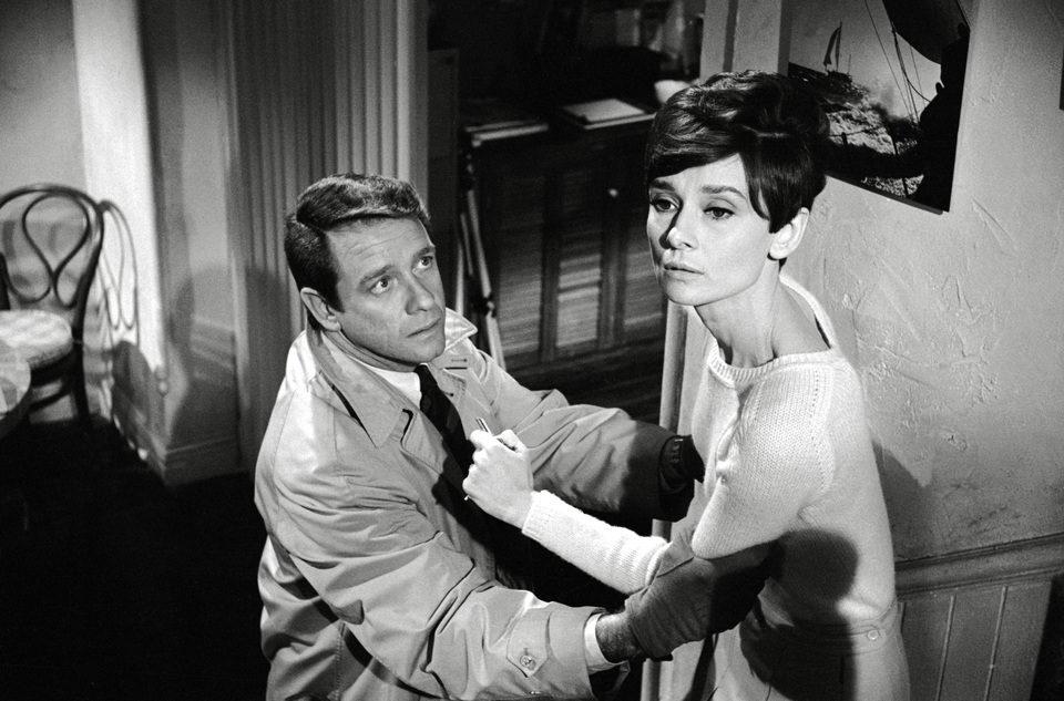 Audrey Hepburn interpretando a Susy Hendrix en 'Sola en la oscuridad'