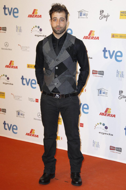 Leandro Rivera en la entrega de los Premios José María Forqué 2013