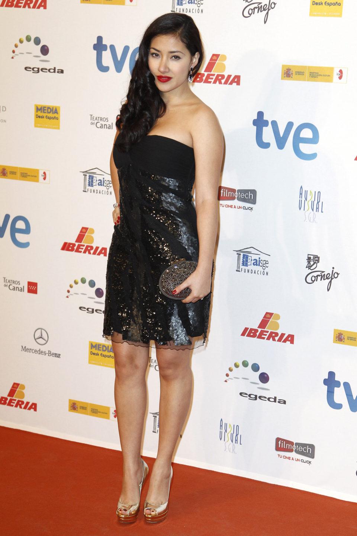 Giselle Calderón en la entrega de los Premios José María Forqué 2013