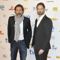 Ginés García Millán y William Miller en la entrega de los Premios José María Forqué