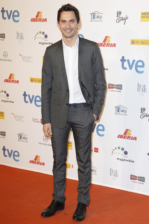 Paco León en la entrega de los Premios José María Forqué 2013