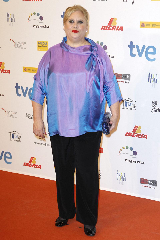 Carmina Barrios en la entrega de los Premios José María Forqué 2013