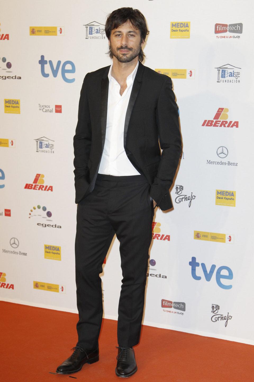 Hugo Silva en la entrega de los Premios José María Forqué 2013