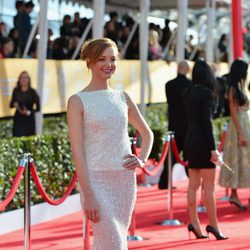 Jayma Mays en la entrega de premios de los Screen Actors Guild Awards 2013