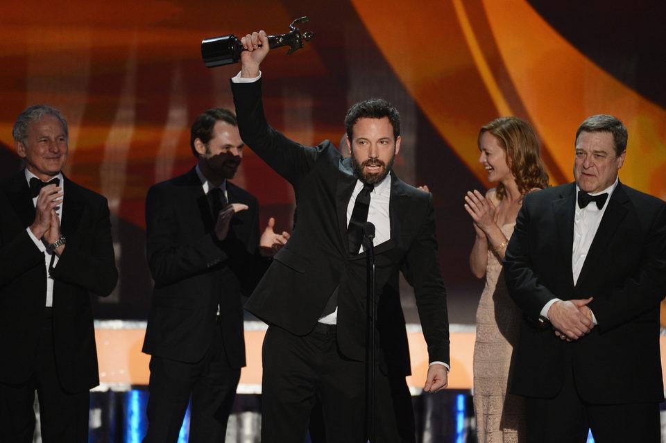Ben Affleck recoge el premio de 'Argo' en los Screen Actors Guild Awards 2013