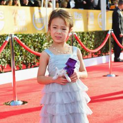 Aubrey Anderson-Emmons en los Screen Actors Guild Awards 2013