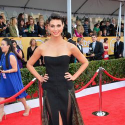 Morena Baccarin en la alfombra roja de los Screen Actors Guild Awards 2013