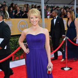 Melissa Rauch en la alfombra roja de los Screen Actors Guild Awards 2013