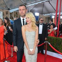 Naomi Watts y Liev Schreiber en la alfombra roja de los Screen Actors Guild Awards 2013