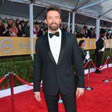 Hugh Jackman en la alfombra roja de los Screen Actors Guild Awards 2013