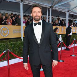 Hugh Jackman en la alfombra roja de los Screen Actors Guild Awards 2013