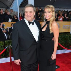John Goodman en la alfombra roja de los Screen Actors Guild Awards 2013