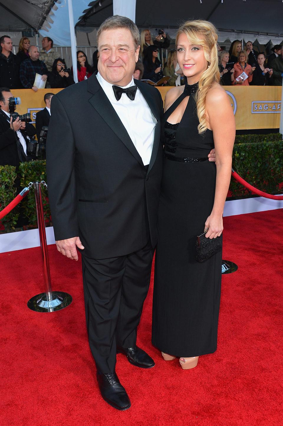 John Goodman en la alfombra roja de los Screen Actors Guild Awards 2013